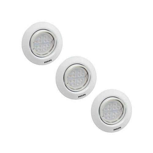 Philips 591633116 Set 3x Led Oświetlenie łazienkowe
