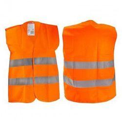 LAHTI PRO Kamizelka ostrzegawcza pomarańczowa dla dzieci 7-9 lat M L4130202 (ZNALAZŁEŚ TANIEJ - NEGOCJUJ CENĘ !!!)