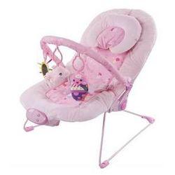 Leżaczek dla dzieci Sun Baby pink heart Niebieskie/Żółte/Zielone