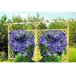 Pergola ogrodowa podwójna 2400 x 4500 x 600