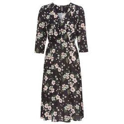 1b6d52ee98 suknie sukienki krotka sukienka na cienkich ramiaczkach z nadrukiem ...