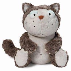 Nici, maskotka, kot, szary, 35 cm Darmowa dostawa do sklepów SMYK