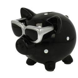 Skarbonka Świnka w okularach