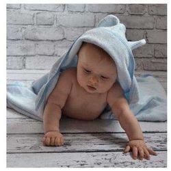 Bambusowy Ręcznik Dziecięcy z Kapturkiem, Candyland / Niebieski Pastelowy, 65x130 cm, CAMPHORA STUDIO