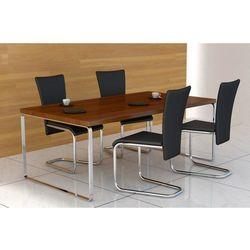 vidaXL Krzesła, czarne x 4 Darmowa wysyłka i zwroty