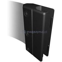 Rozwijana taśma ostrzegawcza ESD + kaseta MINI na śruby, zapięcie przeciwpaniczne (Długość 3,65m)