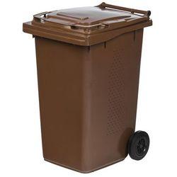 Pojemnik Na Odpady Biodegradowalne Mgb Bio 240l Brązowy Ese