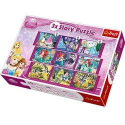 Puzzle 3xStory Księżniczki