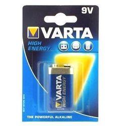 Bateria alkaliczna 9V/6LF22 VARTA HIGH ENERGY