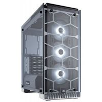CORSAIR Crystal Series 570X RGB Compact ATX Tempered Glass, Compact ATX Mid-Tower / White CC-9011110-WW