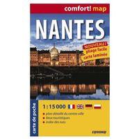 ExpressMap Nantes Plan Miasta 1:15 000 comfort! map