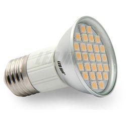Żarówka LED 27 SMD JDR E27 230V 5W biała ciepła
