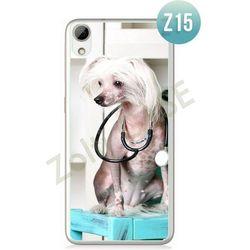 Obudowa Zolti Ultra Slim Case - HTC Desire 626 - Psy - Wzór Z15 - Z15