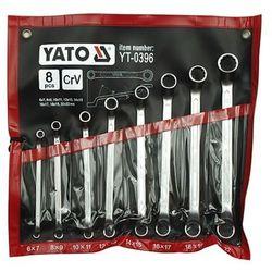 Zestaw kluczy oczkowych YATO YT-0396 6 - 22 mm odgięte (8 elementów)