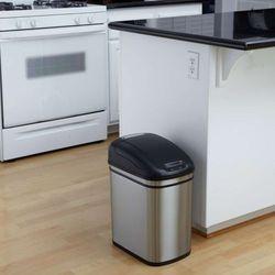 Kosz na śmieci DZT-24-1 24l bezdotykowy automatyczny prostokąt