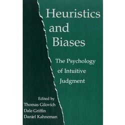 the issues and importance of heuristics and biases in our lives What is cognitive bias and how does it affect our lives can cognitive biases be good this is why students highlight important words when studying.