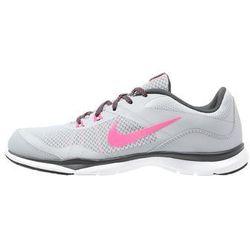 Nike Performance FLEX TRAINER 5 Obuwie treningowe wolf grey/hyper pink/anthracite