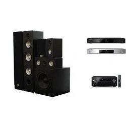 PIONEER VSX-531 + BDP-180 + TAGA TAV-406 + TSW-90 - Kino domowe - Autoryzowany sprzedawca