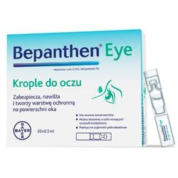 Bepanthen Eye krople do oczu 10 minimsów x 0,5ml