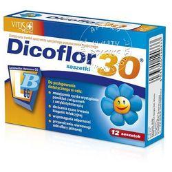 Dicoflor Activ 30 d/dzieci gran.rozp.w ustach - 10 sasz.