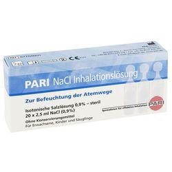 Pari Nacl roztwór do inhalacji w ampułkach 20X2.5 ml