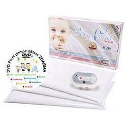 Monitor oddechu Baby Control BC-230, trzy jednostki sterujące Biała
