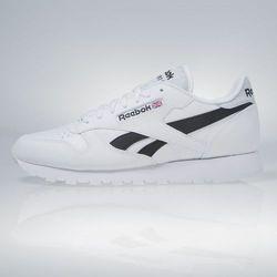 Sneakers buty Reebok Classic Leather Pop white / black (AR0298)
