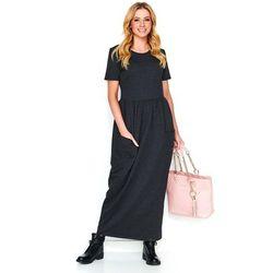 c2cfa9b1f6 suknie sukienki sukienka dresowa z kapturem i kieszeniami skrzydla ...