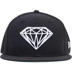 czapka DIAMOND - Brilliant Fitted Black Blk (BLK)