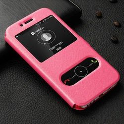 View Flip Różowy   Etui z klapką dla Huawei Honor 5X - Różowy