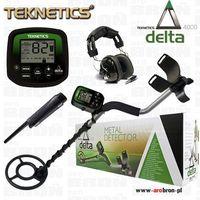 Wykrywacz metali Teknetics DELTA 4000 GWP słuchawki Pinpointer GWARANCJA do 5 lat