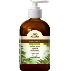 Green Pharmacy, mydło w płynie, aloes, 465 ml, dozownik