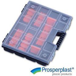 PROSPERPLAST Organizer narzędziowy walizkowy, 290x195x35 mm, NOR12