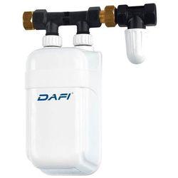 Elektryczny Momentalny Przepływowy Ogrzewacz Wody DAFI - wersja z przyłączem - 5,5 kW 230 V