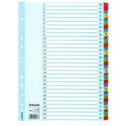 Przekładki kartonowe numeryczne ESSELTE A4 Mylar 1-31