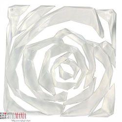 Panel dekoracyjny Koziol Romance transparentny 4 szt. KZ-2039535