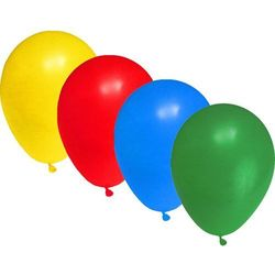 Balony do nadmuchiwania zwykłe mix 30 sztuk