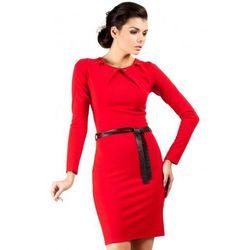 Sukienka z ćwiekami MOE043
