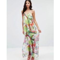 Twin Sister Chiffon Cami Maxi Dress - Multi