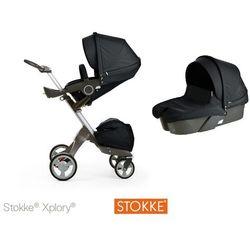 Stokke ® Xplory Głęboko-Spacerowy Black