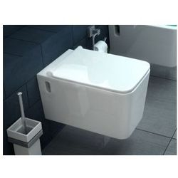 CUBIK SLIM Miska WC wisząca + deska wolnoopadająca