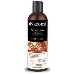 Nacomi Szampon z kreatyną i olejem avocado 250ml