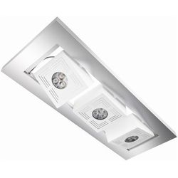 TRESOL CUBE TRIO - Plafon LED Srebrny