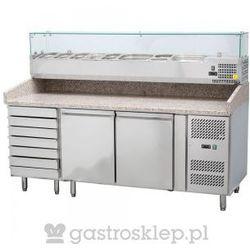 Stół do pizzy z nadstawą chłodniczą 2025x800x1415mm | 843271