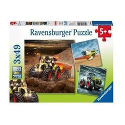 Puzzle Maszyny rolnicze Claas 3x49