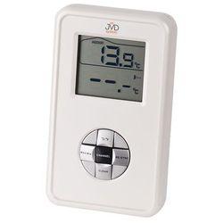 Termometr cyfrowy JVD T228 + czujnik zewnętrzny + czujnik do wody.