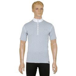 koszulka rowerowa Moira C-DP/KRZ2 - Check/White/Blue