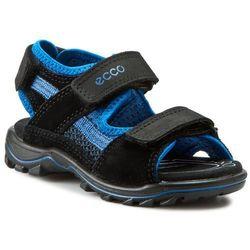 Sandały ECCO - Urban Safari Kids 73214259745 Black/Black/Bermuda Blue