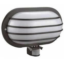Orno Oprawa lampa z czujnikiem ruchu PIR SOLANO 180°, 1x60W, E27, IP44 OR-OP-307BE27ZMR