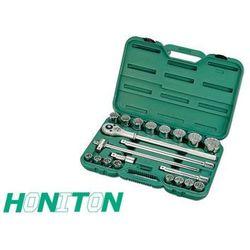 HONITON Komplet kluczy 21 elem. 3/4
